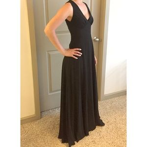 XS BHLDN Formal Black Dress